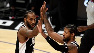 LA Clippers defeat the Utah Jazz 132-106 during game three of the Western Conference second-round NBA basketball playoff basketball game