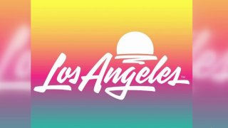 The new logo for Los Angeles is a collaboration between Shepard Fairey's Studio Number One and House Industries.