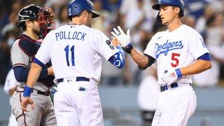 MLB: AUG 31 Braves at Dodgers