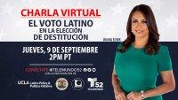 Charla Virtual: El Voto Latino en la Elección de Destitución en California