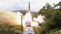 En video: así lanzó Corea del Norte misiles balísticos desde un tren