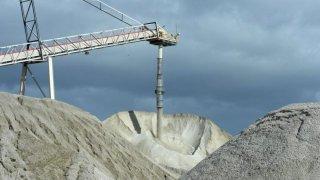 Mina de explotación de litio
