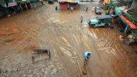 Sube a 67 la cifra de muertos por inundaciones y deslaves en India