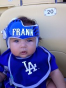 [UGCLA-CJ-sports]Frank and his Dodger helmet