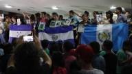 Madres de desaparecidos se reúnen con caravana