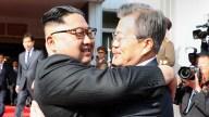 Líderes de las dos Coreas se reúnen para hablar de EEUU