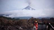 Volcán de Fuego sigue activo con 7 explosiones por hora