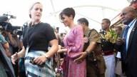 """""""Preocupados por su seguridad"""" acortan visita de Meghan a mercado"""