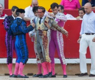 Spanish bullfighter Ivan Fandino killed by a bull