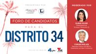 Foro de Candidatos para el Distrito 34