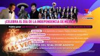 Celebrando la Indepencencia de México en Las Vegas