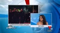 Mariella Saba, fundadora de la Coalición Anti-espionaje Policiaca, y Edgar González, quien dice no confiar en la policía, expresan su visión del poder judicial...