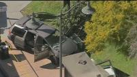 Una camioneta atropelló a cinco personas que se encontraban en una parada de autobuses en Boyle Heights.