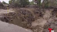 Autoridades dicen que las zonas en Montecito castigadas por el deslave de 9 de enero no ha mejorado.