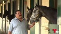 Un grupo de trabajadores de un rancho en San Diego se vistieron de heroes para salvar a cientos de caballos.