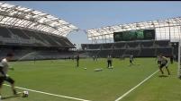 El LAFC ya cuenta con su sede después de la inauguración del Estadio Banc of California.