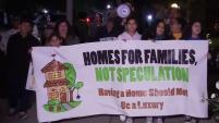 Un grupo de residentes de Los Ángeles alegan que el dueño dele dificio donde viven aumentó el alquiler en un 150%.