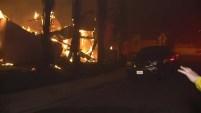 Un incendio estalló en llamas el jueves en la tarde debido a fuertes vientos de Santa Ana en el condado de Ventura. Alrededor de la 1:30 a.m.
