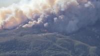Un nuevo estallido del Incendio Woolsey  en medio de las ráfagas de los vientos de Santa Ana