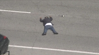 Las autoridades arrestaron a un hombre qu protagonizó una persecución peligrosa desde Lynwood hasta el área de Westchester.