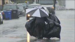 Fuertes tormentas azotan al Sur de California