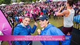 Caminata contra el cáncer de seno en Los Ángeles
