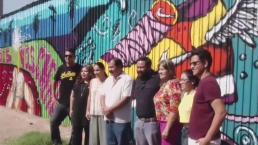 Artistas contra el muro de Trump