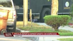 Investigan persecución en Compton