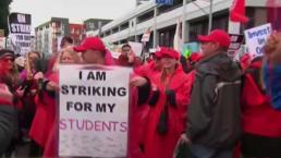 Comienza segunda semana de huelga de maestros