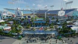 Dodgers revelan renovación millonaria del estadio