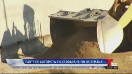 Video: Cierran de nuevo tramo de la autopista 710 por reparación