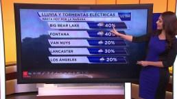 Video: Alerta en el sur de California por lluvia