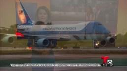 Video: Advierten de tráfico por visita de Obama a Los Ángeles