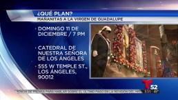 Video: Celebran en Los Ángeles a la Virgen de Guadalupe