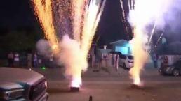Enfatizan que uso de fuegos artificiales es ilegal