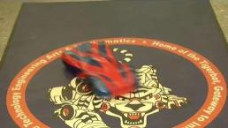 Estudiantes latinos ganan premio con un diseño de auto