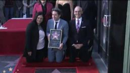 Gustavo Dudamel ya tiene estrella en Hollywood