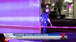 Hombre muere apuñalado en negocio de Anaheim