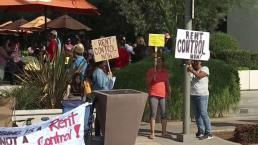 Inquilinos protestan aumento de rentas y desalojos