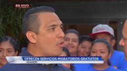 Video: Feria de inmigración en Anaheim