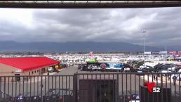 Llueve no arruina evento de NASCAR en Fontana