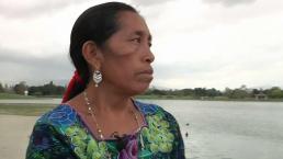 Mujer indígina correrá el maratón de LA en huaraches y traje típico
