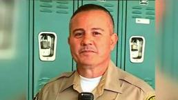 Servicio fúnebre para el alguacil Joseph Solano