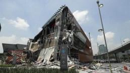 México: se desploma parte de un polémico centro comercial