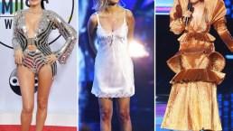De los escotes a las extravagancias en los American Music Awards