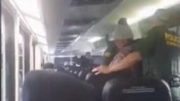 ICE sube a autobús y pide prueba de ciudadanía