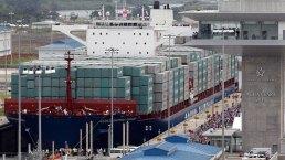 Buque Cosco inaugura ampliación del Canal de Panamá