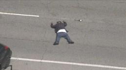 Hombre protagoniza persecución peligrosa en Los Ángeles
