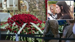 Novia de José Fernández le da el último adiós