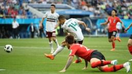 ¡Golazo! Chicharito pone a México arriba en la Copa Mundial